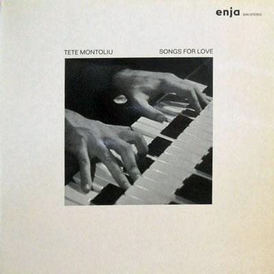 TETE MONTOLIU - Songs For Love - LP