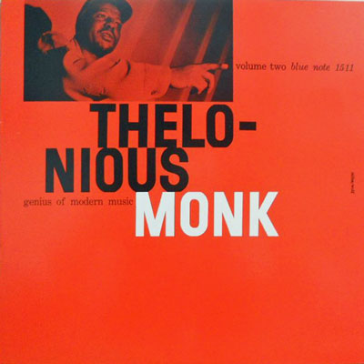 THELONIOUS MONK - 2: Genius Of Modern Music Volume Two - LP