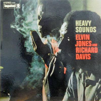 ELVIN JONES AND RICHARD DAVIS - Heavy Sounds - LP