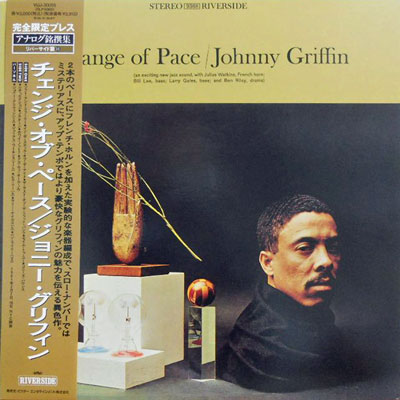 JOHNNY GRIFFIN - Change Of Pace - LP