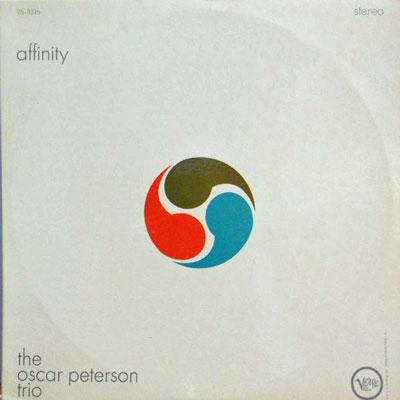 OSCAR PETERSON TRIO - Affinity - LP