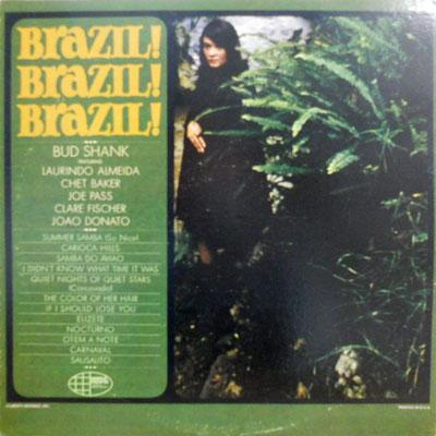 BUD SHANK - Brazil! Brazil! Brazil! - LP