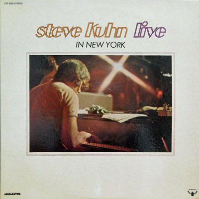 STEVE KUHN - Live In New York - LP