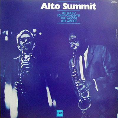 LEE KONITZ PONY POINDEXTER PHIL WOODS LEO WRIGHT - Alto Summit - LP