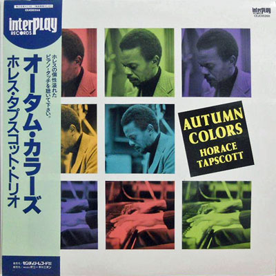 HORACE TAPSCOTT - Autumn Colors - LP
