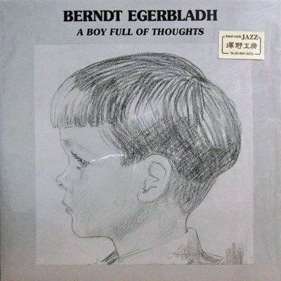 BERNDT EGERBLADH - A Boy Full Of Thoughts - LP