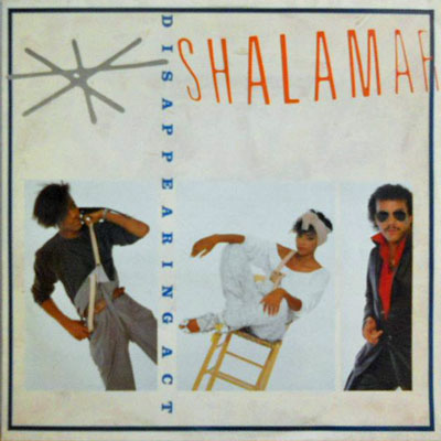 SHALAMAR - Disappearing Act / Closer / You Can Count On Me - 12 inch x 1