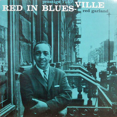 RED GARLAND TRIO - Red In Bluesville - LP