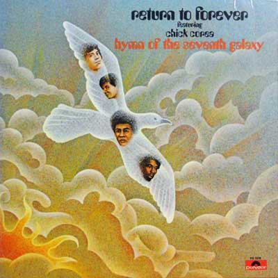 RETURN TO FOREVER FEAT. CHICK COREA - Hymn Of The Seventh Galaxy - LP
