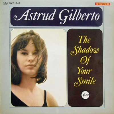 ASTRUD GILBERTO - The Shadow Of Your Smile - LP