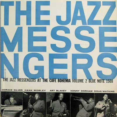 ART BLAKEY & THE JAZZ MESSENGERS - Vol. 2: At The Cafe Bohemia - LP