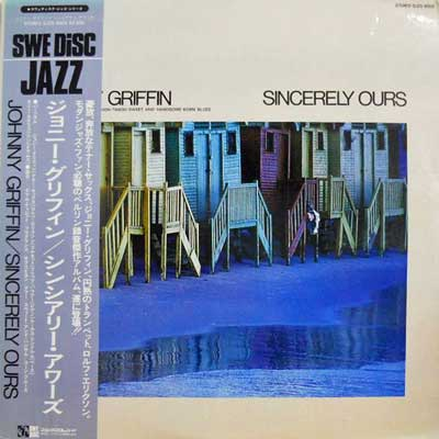 JOHNNY GRIFFIN - Sincerely Ours - LP