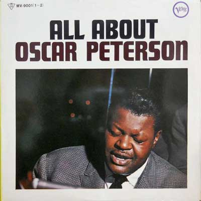 OSCAR PETERSON - All About - LP