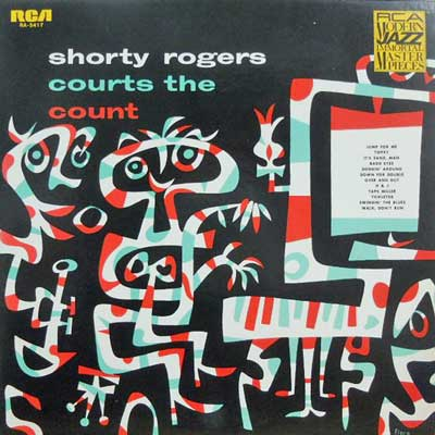 SHORTY ROGERS - Courts The Count - LP