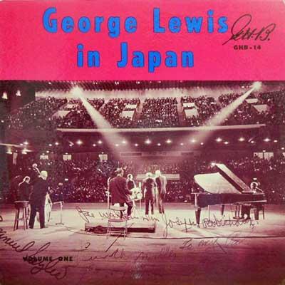 GEORGE LEWIS - In Japan - LP