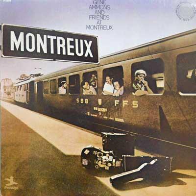 GENE AMMONS & FRIENDS - At The Montreux - LP