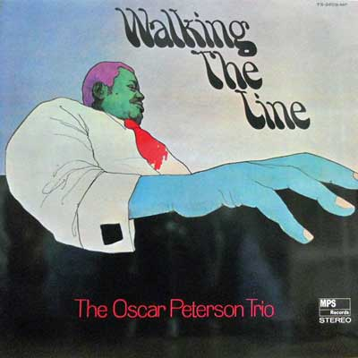 OSCAR PETERSON TRIO - Walking The Line - LP