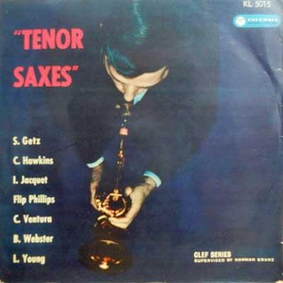 V.A.: STAN GETZ LESTER YOUNG COLEMAN HAWKINS... - Tenor Saxes - LP