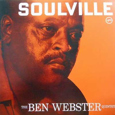 BEN WEBSTER - Soulville - LP