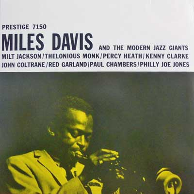 MILES DAVIS - And The Modern Jazz Giants - LP