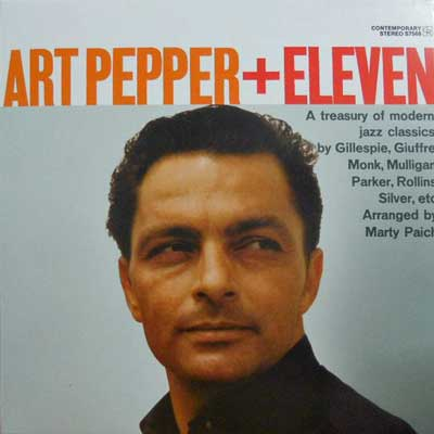 ART PEPPER - Plus Eleven: Modern Jazz Classics - LP
