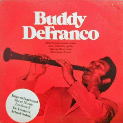 BUDDY DEFRANCO - Buddy Defranco - LP