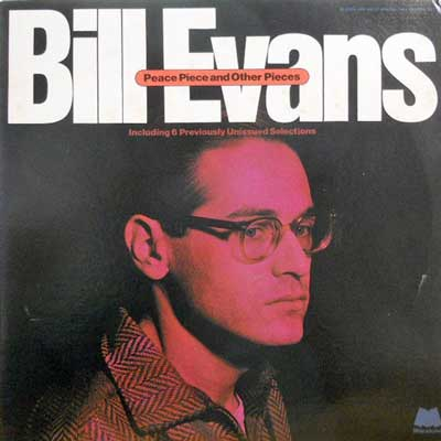 BILL EVANS - Peace Piece And Other Pieces - LP