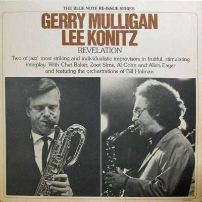 GERRY MULLIGAN LEE KONITZ - Revelation - LP