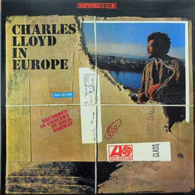 CHARLES LLOYD - In Europe: Recorded In Concert In Oslo Norway - LP
