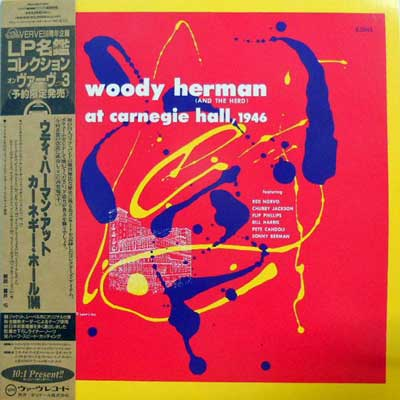 WOODY HERMAN AND THE HERD - At Carnegie Hall 1946 - LP
