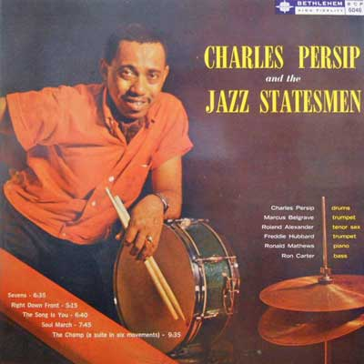 CHARLES PERSHIP - Pership And The Jazz Statesmen - LP