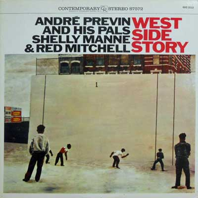 ANDRE PREVIN & HIS PALS - West Side Story - LP