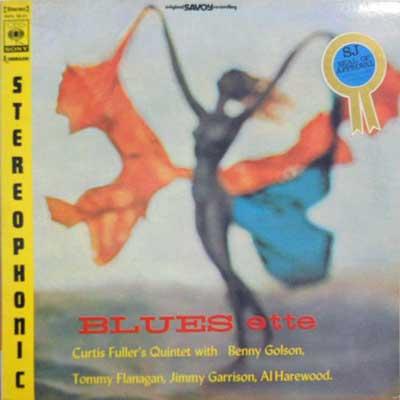CURTIS FULLER - Blues Ette - LP