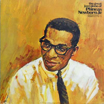 PHINEAS NEWBORN JR. - The Great Jazz Piano Of - LP