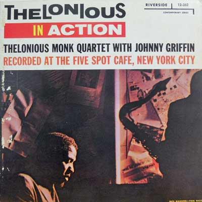 THELONIOUS MONK QUARTET - Thelonious In Action - LP