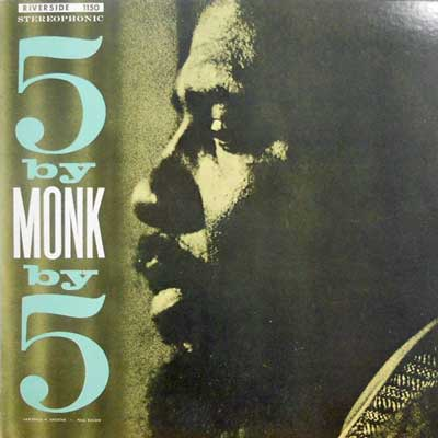 THELONIOUS MONK - Five By Monk By Five - LP