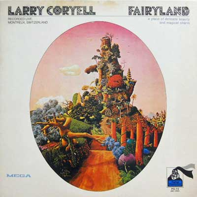 LARRY CORYELL - Faiyrland - LP