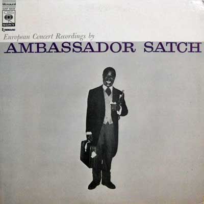 LOUIS ARMSTRONG AND HIS ALL STARS - Ambassador Satch - LP
