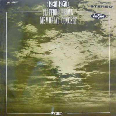 CLIFFORD BROWN - Memorial Concert (1930-1956) - LP