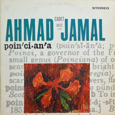 AHMAD JAMAL - Poinciana - LP
