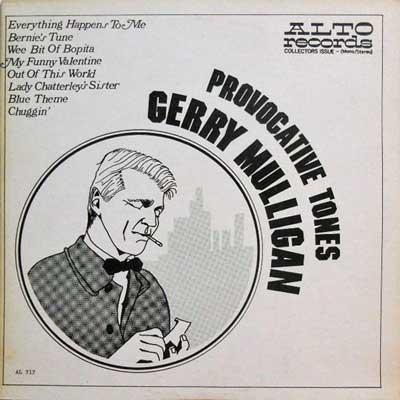 GERRY MULLIGAN - Provocative Tones - LP
