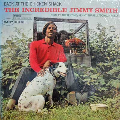 JIMMY SMITH - Back At The Chicken Shack - LP
