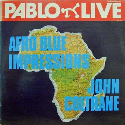 JOHN COLTRANE - Afro Blue Impressions - LP