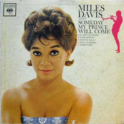 MILES DAVIS - Someday My Prince Will Come - LP
