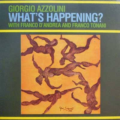 GIORGIO AZZOLINI - What's Happening? - LP