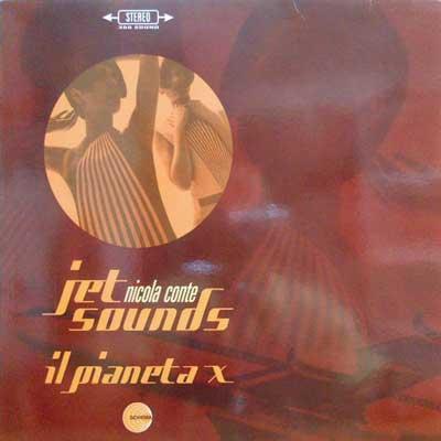 NICOLA CONTE - Jet Sounds - 12 inch x 1