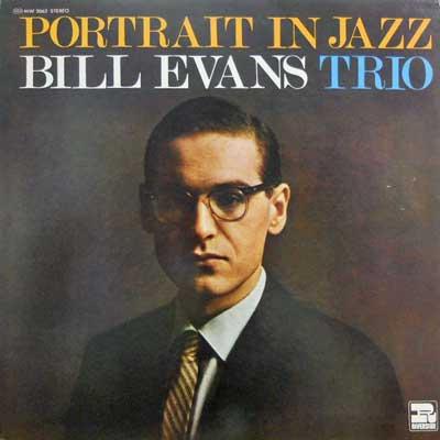 BILL EVANS TRIO - Portrait In Jazz - LP