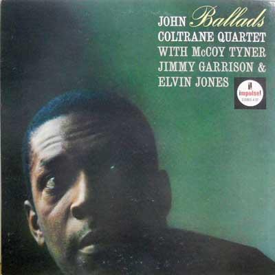 JOHN COLTRANE QUARTET - Ballads - LP