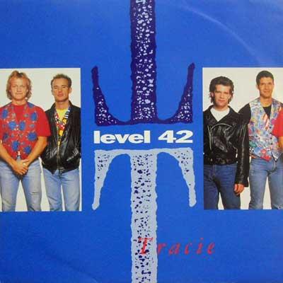 LEVEL 42 - Tracie / Three Words - 12 inch x 1