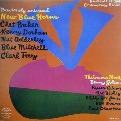 CHET BAKER - New Blue Horns - LP